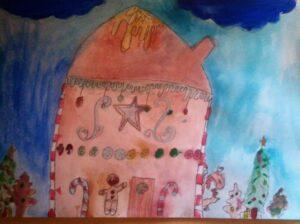 Tėja Gudauskytė 8 m. Dailės studija