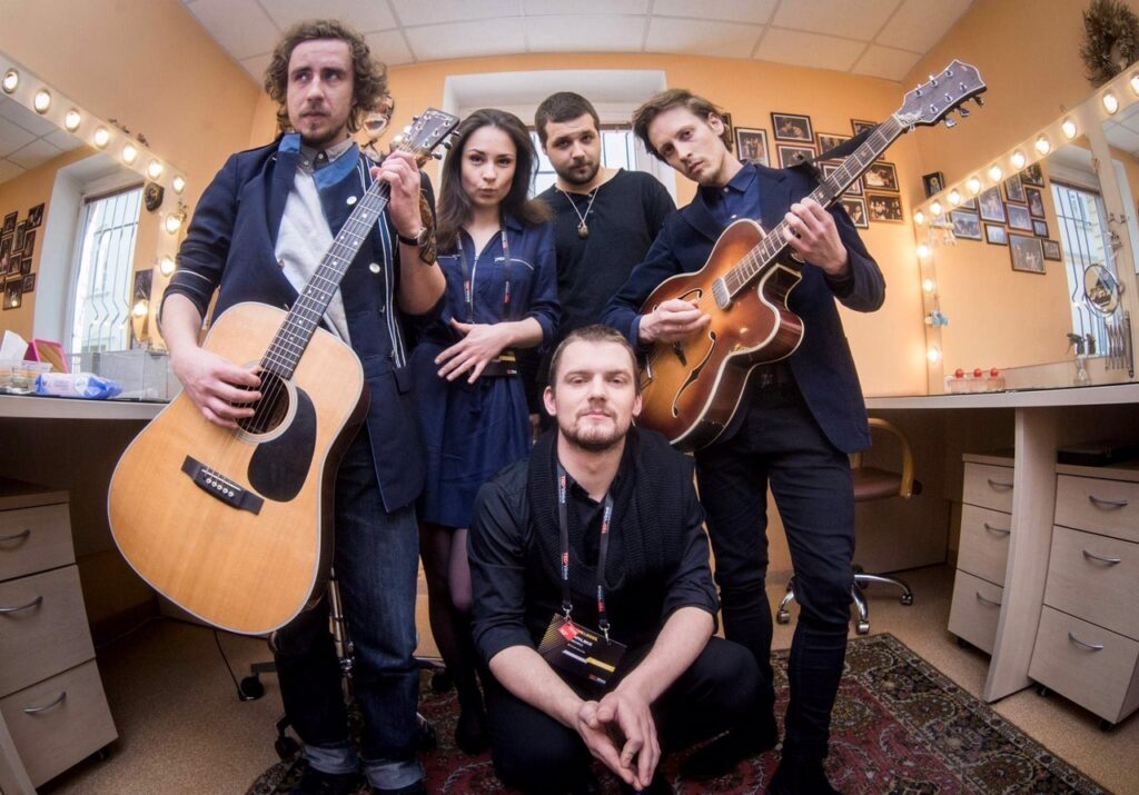 Birutė Tauterytė (vokalas) su grupe Whale saunds 2019 m.