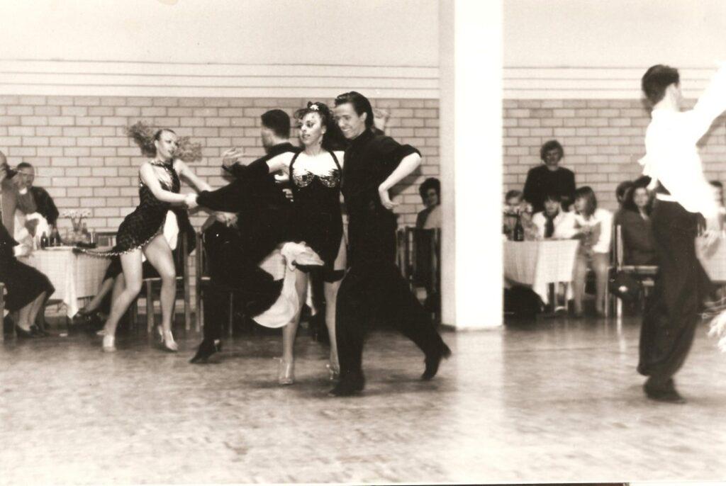 Tomas Ožinskas ir Irina Diudiukina, 1994 m.