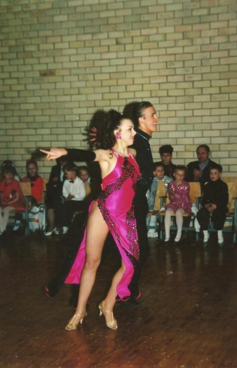 Tomas Ožinskas ir Irina Diudiukina